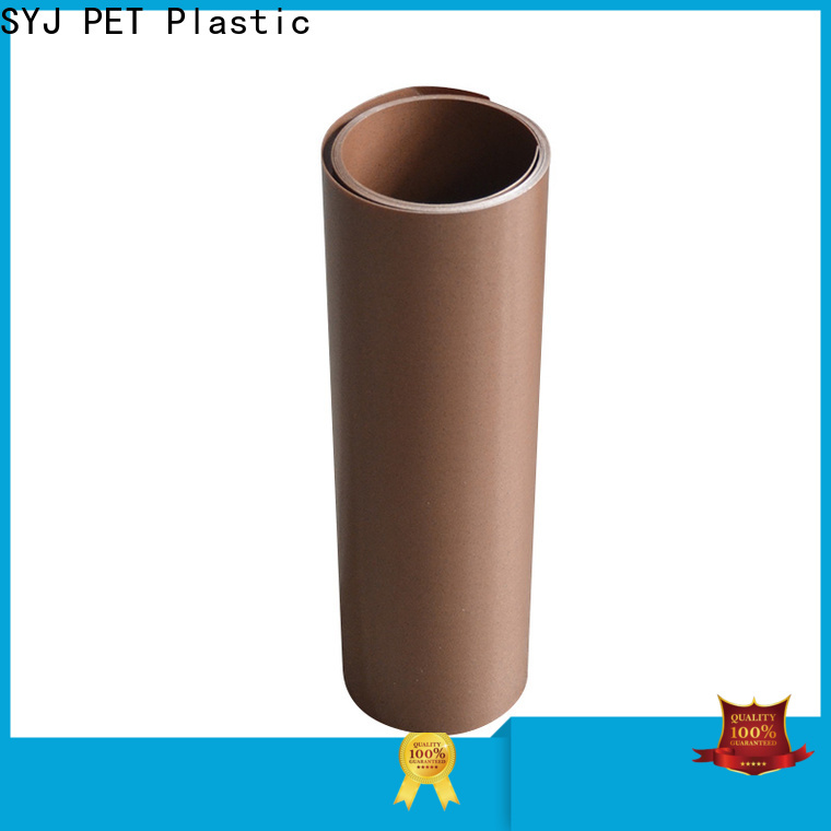 SYJ Top transparent plastic roll company for food packaging