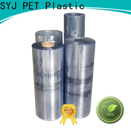 SYJ High-quality thick clear plastic sheeting rolls factory for plastic face shields