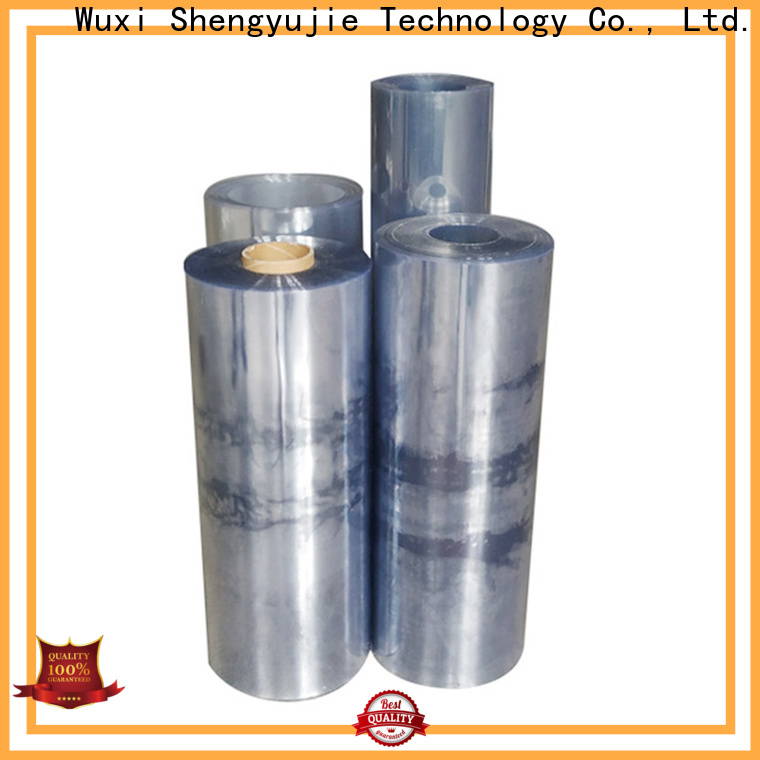 High-quality blue plastic roll factory for food packaging