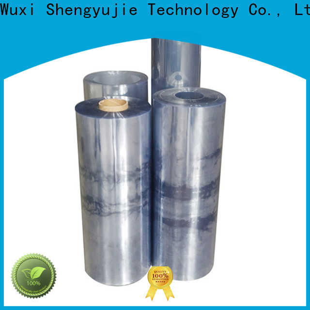 SYJ High-quality clear plastic film roll Supply for plastic face shields