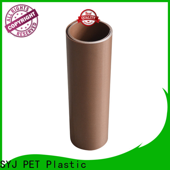 New transparent plastic film roll Supply for plastic bottles