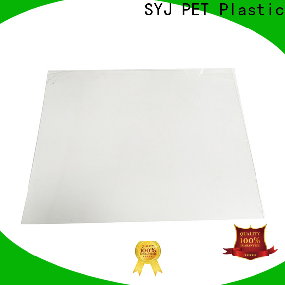 SYJ Custom polyester plastic sheets factory for food packaging