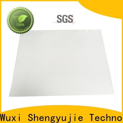 SYJ light plastic sheet manufacturers for plastic face shields