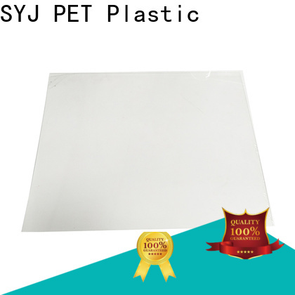 SYJ petg sheet stock manufacturers for plastic boxes