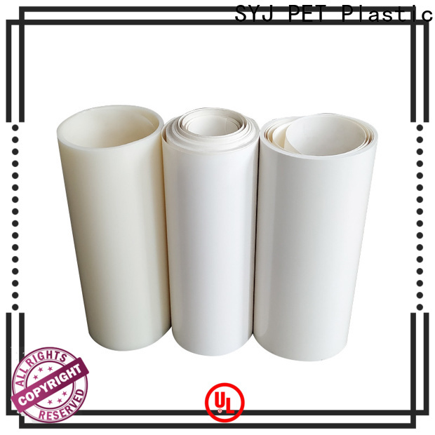 SYJ thick plastic sheeting roll company for food packaging