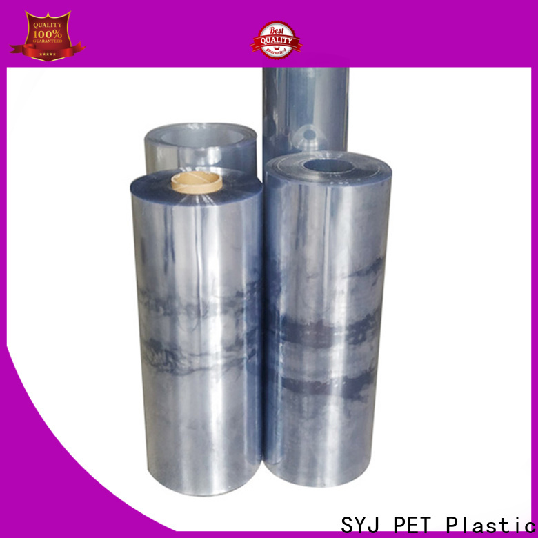 SYJ Custom colored polyester film company for plastic packaging