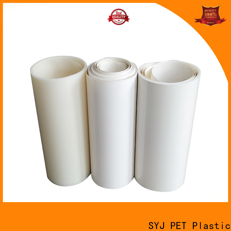 SYJ Latest clear pet plastic sheets shipped to business for plastic boxes
