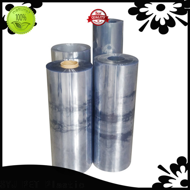 SYJ Best uv plastic roll factory for plastic face shields