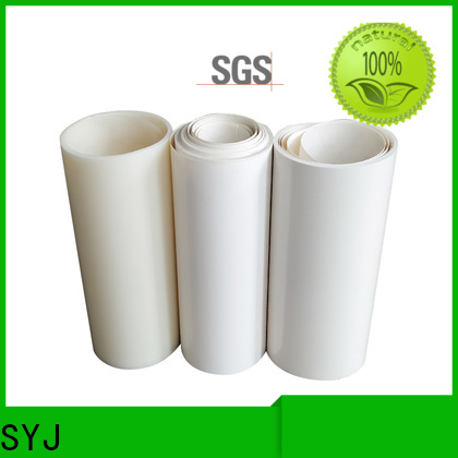 SYJ Wholesale roll of plastic film Suppliers for plastic face shields