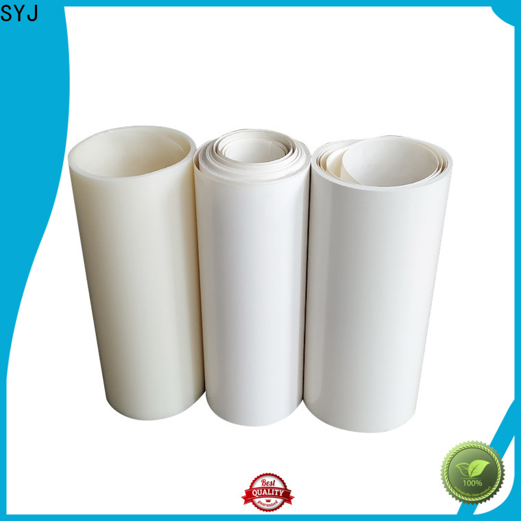 SYJ Best plastic roll manufacturers shipped to business for plastic boxes