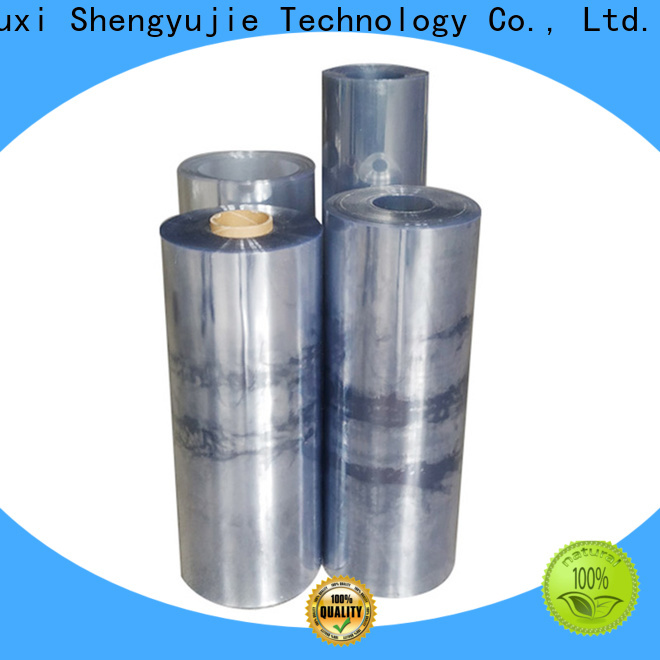 Wholesale clear plastic roll Suppliers for plastic boxes