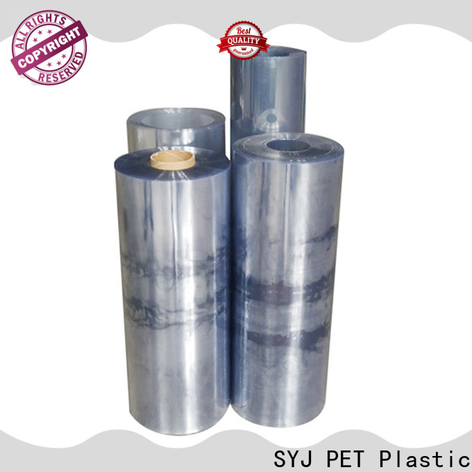 SYJ translucent polyester film Supply for plastic face shields