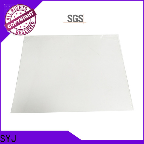 SYJ strong plastic sheet factory for plastic packaging